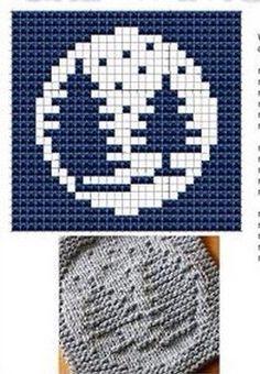 Forest Knit Dishcloths Pattern