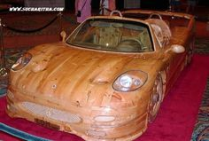 It S One Thing Designing A Car Entirely Out Of Wood Another Making That Is Modelled On The Design Ferrari Works Water