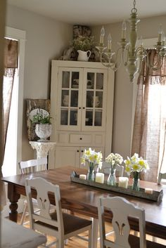 Beautiful dining room!                                                                                                                                                      More