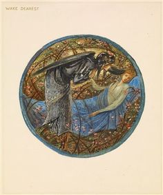 The Flower Book - Wake, Dearest By Sir Edward Burne-Jones