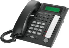 Panasonic KX-T 7730 Analogue Handset - Black + vat Phones For Sale, New Phones, Plate Camera, Control Key, Caller Id, Intercom, Office Phone, Telephone, Computer Accessories