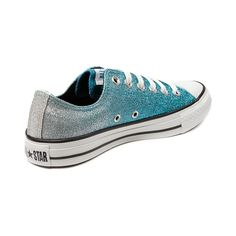 I love the hell out of these. Converse All Star Lo Glitter Sneaker
