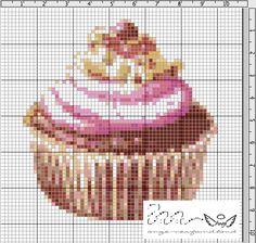 Ange's Blog: Free Cream Cupcake chart