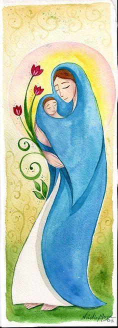 Mãe Divina - Nádia Moya