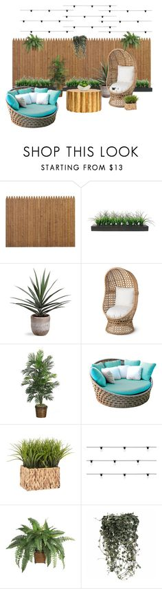 """""""Green Garden"""" by melisafash on Polyvore featuring interior, interiors, interior design, home, home decor, interior decorating, Vintage, Improvements, Skyline and Seletti"""