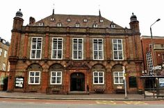 The exterior of Beckenham Public Hall - The front view of the lovely Wedding Venue in Kent