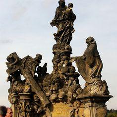 Statue of the Madonna attending to St. Bernard