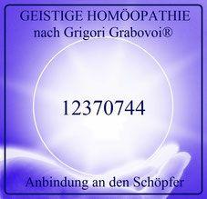 Anbindung an den Schöpfer, GEISTIGE HOMÖOPATHIE nach Grigori Grabovoi®, Sphäre…