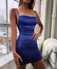 Prom Dresses Beautiful, Roayl Blue Spaghetti Straps Sleeveless Short Homecoming dress, Looking for the perfect prom dress to shine on your big night? Prom Dresses 2020 collection offers a variety of stunning, stylish ball. Sexy Dresses, Simple Homecoming Dresses, Hoco Dresses, Dresses For Teens, Elegant Dresses, Casual Dresses, Fashion Dresses, Dresses For Work, Bodycon Homecoming Dresses