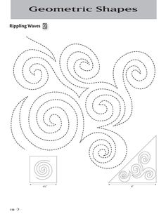 Rippling Waves   Martingale - 501 Quilting Motifs