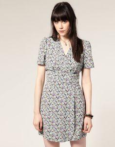 floral dress - £20