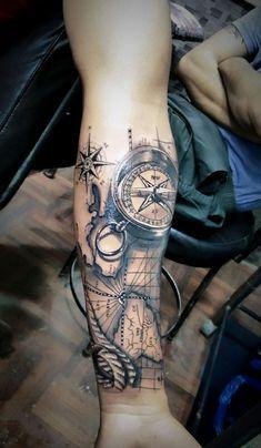 Navigator tattoo - Noctis D .- Navigator tattoo – Noctis D – Navigator tattoo – Noctis D – # … Small Tattoos 💉 - Forarm Tattoos, Forearm Sleeve Tattoos, Forearm Tattoo Design, Best Sleeve Tattoos, Sleeve Tattoos For Women, Tattoo Sleeve Designs, Arm Tattoos For Guys, Leg Tattoos, Body Art Tattoos