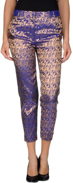 Haider Ackermann Casual Pants in Purple