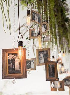 Frames For Wedding Decor: 42 Ideas   HappyWedd.com