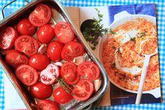 risotto tomaat/mascarpone  bouillon is te vervangen door vegetarische variant