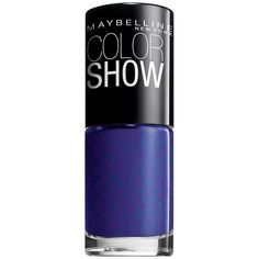 Maybelline New York Color Show Nail Polish Lacquer .23 fl. Oz. BLUE FREEZE #350