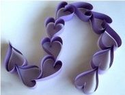 Make a Paper Heart Chain! This is a fun, easy project. Great for anniversary party decor or a sweet little gift for someone special. ...