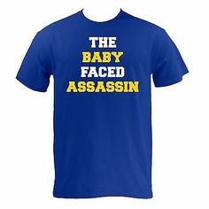 4e930897c The Baby Faced Assassin - Royal Basic Cotton Golden State Warriors Pride T- Shirt