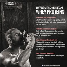 Whey proteins is not just for men, even women can reap its benefits. and yea it wont make them bulky.. #Wheyprotein #protein #proteinbenefits