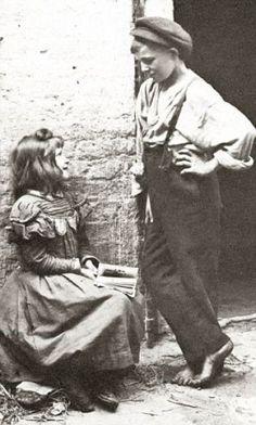 East End Children Taken by Horace Warner in 1912 in Spitalfields England.