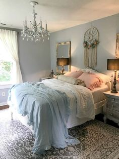 Romantic Shabby Chic Bedroom Decorating Ideas (42) #shabbychicfurniture