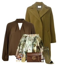 """""""earth tones"""" by divacrafts ❤ liked on Polyvore featuring Folk, River Island, Chicnova Fashion, Yves Saint Laurent, Gucci, Kendra Scott, Forever 21 and Original"""