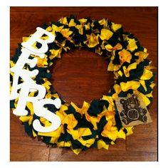 Baylor wreath.