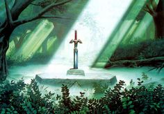 Master Sword The legend of Zelda