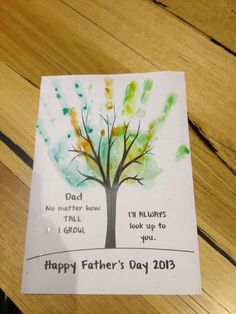 Father's Day idea Daycare Crafts, Sunday School Crafts, Toddler Crafts, Crafts For Kids, Fathers Day Crafts Preschool, Fathers Day Poems, Happy Fathers Day, Toddler Fathers Day Gifts, Diy Father's Day Gifts