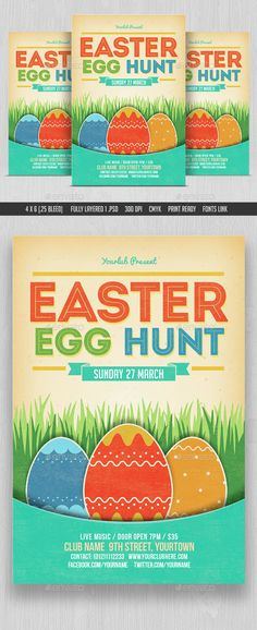 Easter Egg Frank Easter Egg Hunt Flyer Template Publisher | Easter