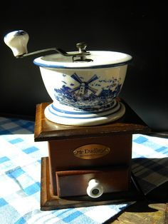 Vintage Delft Blue & White Porcelain and by BelleBeauAntiquarian, $15.99
