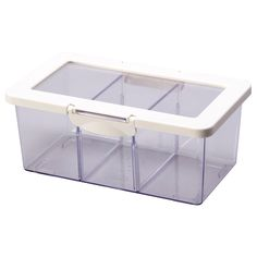 "KRUS Jar with lid - 9x7x5 "" - IKEA  Good for organizing add-in for oatmeal"