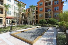 Bocce anyone? Paseo at Winter Park Village Luxury Apartments in Winter Park, FL   www.paseoliving.com