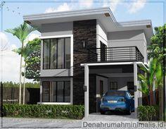 Desain rumah minimalis 2 lantai modern
