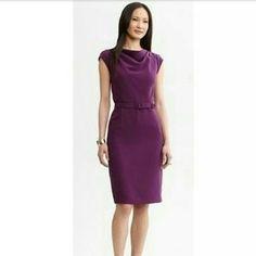 Banana Republic Dresses & Skirts - NWT Banana Republic purple dress US 6