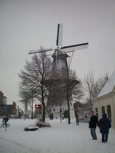 De Winter Wonderland - Molen Vlaardingen