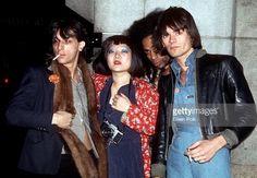 Johnny, Anya Phillips, Buddy Bowser and Dee Dee Ramone, NYC, 1975/1976.