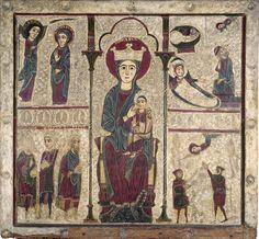 Frontal d'altar de Rigatell   Museu Nacional d'Art de Catalunya