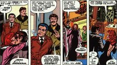 """Chris goes meta! Stan and Jack cameo as Scott and Jean test the mistletoe in """"X-Men"""" 98."""