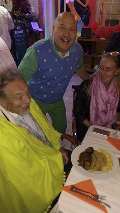 Karel Gott slavil Silvestra na Tenerife s Michalem Davidem.