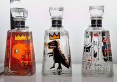 1800 Tequila limited edition series features 6 works by Jean-Michel Basquiat
