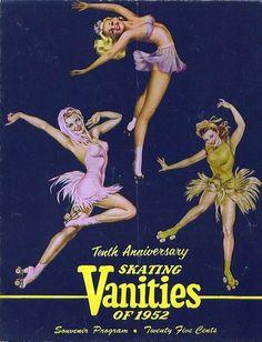 Skating Vanities of 1952 by Alberto Vargas