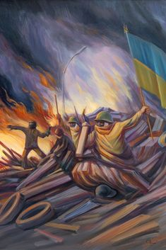 Oleg Shuplyak, 1967 ~ painter of surreal optical illusion - Optical Illusions Optical Illusions Drawings, Face Illusions, Illusions Mind, Optical Illusion Paintings, Illusion Drawings, Art Optical, Illusion Art, Illusion Pictures, Salvador Dali