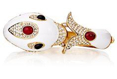 White Dolphin Bracelet on OneKingsLane.com