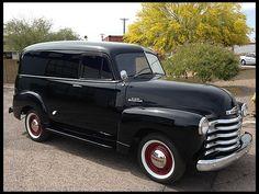 1953 Chevrolet Panel Truck.