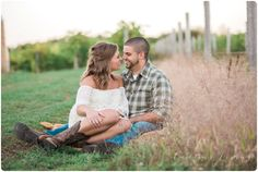 Lovely Engagement Photos | Outfit Ideas | Country Engagement | Cowgirl Boots