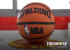 Mi siguiente pastel de cumpleaños. ¿Quién quiere un poco? #Birthday #Cake #NBA #Pastel #Spalding #Cumpleaños #Pelota #Basketball #Basquet