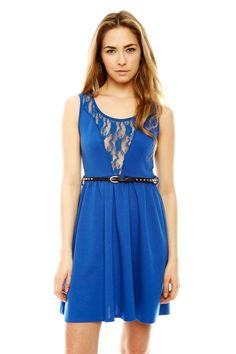 $47 Shoptiques — Lacy Skater Dress