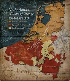Netherlands Map Today we call this Benelux. Belgium, Netherlands and Luxemburg. European History, World History, Ancient History, Ancient Map, Netherlands Map, Spanish Netherlands, Vintage Maps, Antique Maps, Country Maps