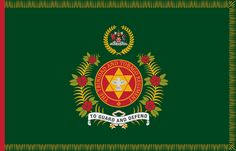 Regimental Colour of the Trinidad and Tobago Regiment